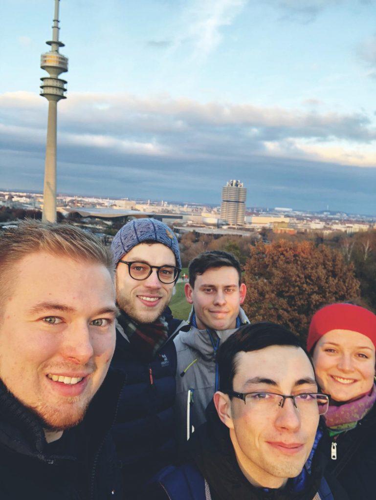 Abschlussfahrt 2019: Olympiaberg