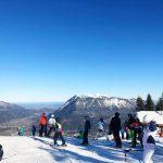 Abschlussfahrt 2019: Skifahren