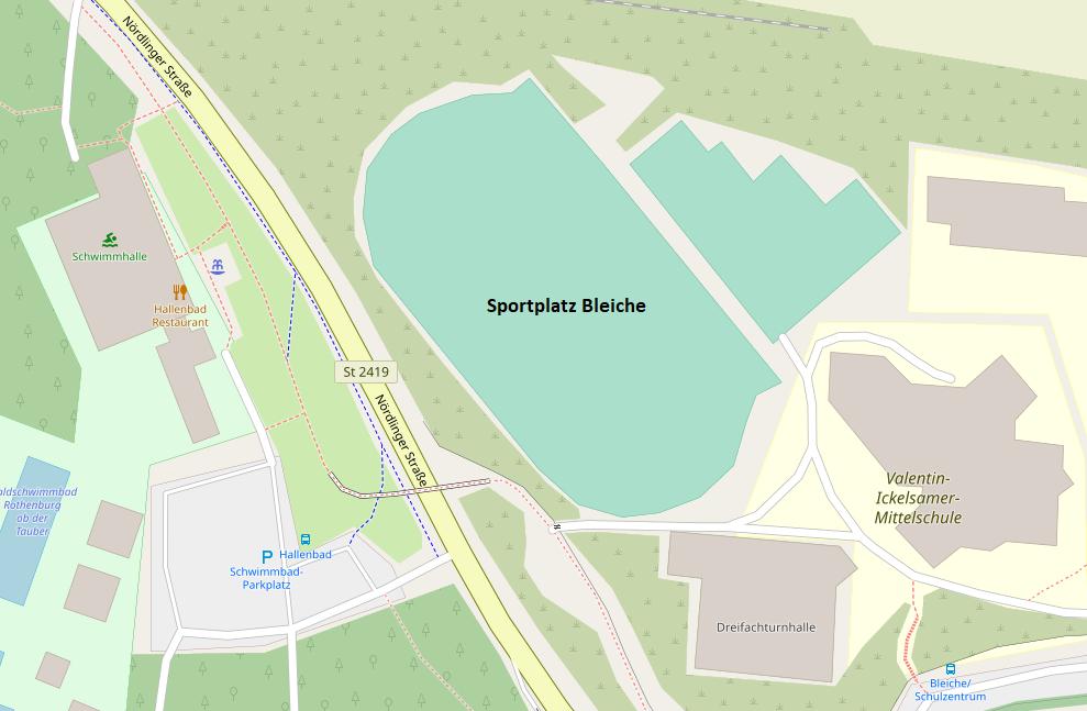 Sportplatz Bleiche